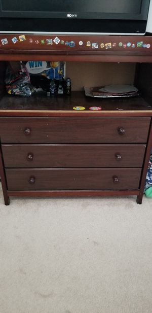 Storage drawer changing table for Sale in Westerville, OH