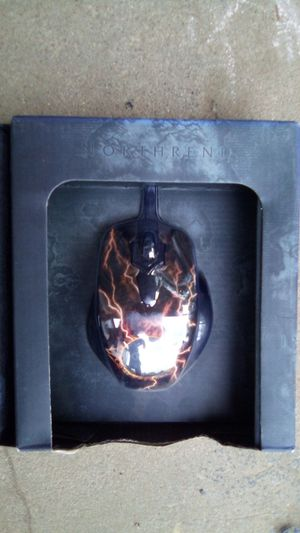 World of Warcraft SteelSeries gaming mouse. (Legendary Edition) for Sale in Indianapolis, IN