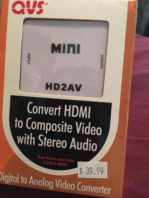 HDMI converter Digital to Analog for Sale in Columbia, TN