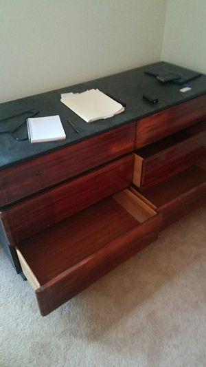 Black and brown dresser for Sale in Charlottesville, VA
