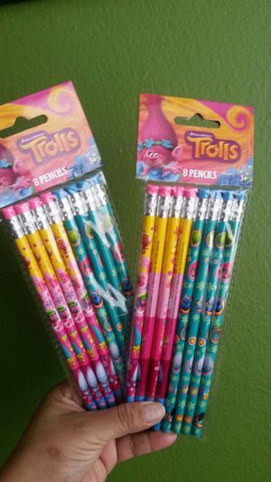Trolls party supplies (new) for Sale in Houston, TX