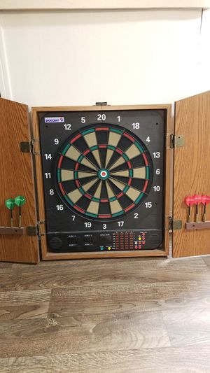 Soft Tip Electronic Dartboard with Case for Sale in Phoenix, AZ