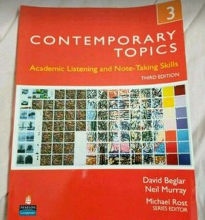 Contemporary Topics book for Sale in Bloomington, MN