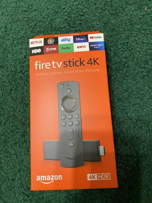 Fire TV 4K - Practically new! for Sale in Chino Hills, CA