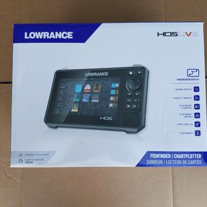 NEW LOWRANCE HDS LIVE MARINE GPS FISHFINDER CHARTPLOTTER $700 Firm for Sale in Houston, TX