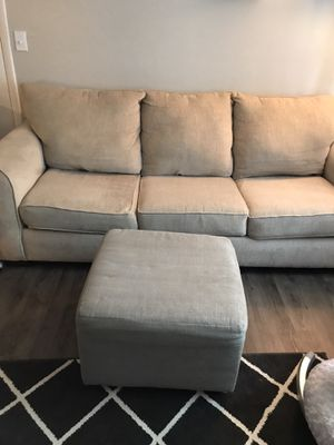 Couch and ottoman for Sale in Taylorsville, UT