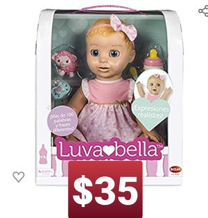 Luvabella 61922700 Bizak Doll Muñeca juguete for Sale in Montclair, CA