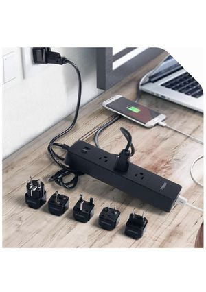 Surge protector with usb charger for Sale in Los Angeles, CA
