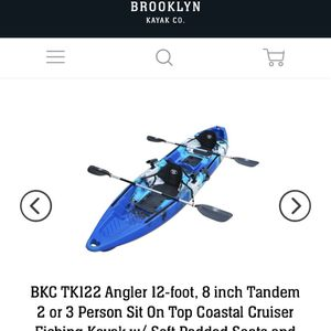 Tandem Fishing Kayak - New for Sale in Austin, TX