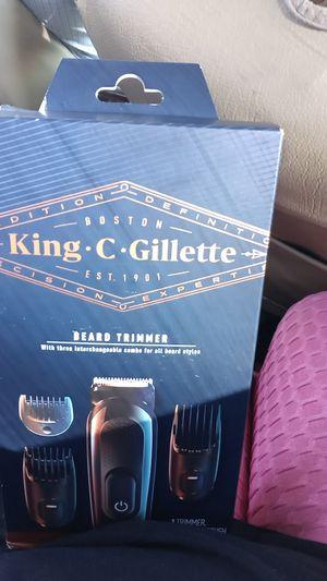 King c. gillette beard trimmer for Sale in Huntington Park, CA
