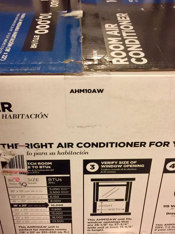 GE Window Air Conditioner Model# AHM10AW