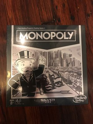 MONOPOLY silver line for Sale in Philadelphia, PA