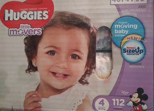 HUGGIES LITTLE MOVERS for Sale in Moreno Valley, CA
