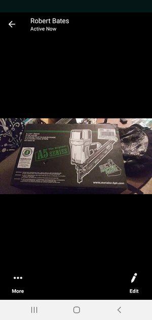 Brand new in box never used hitachi nail gun for Sale in Hillsboro, OR