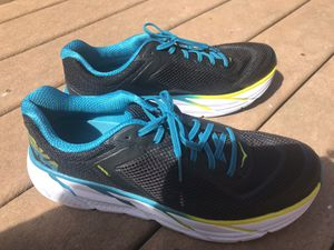 HOKA ONE ONE Napali Men's Shoes Black/Caribbean Sea size 11 for Sale in Frederick, MD