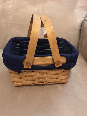 Longaberger little market basket for Sale in Englewood, FL