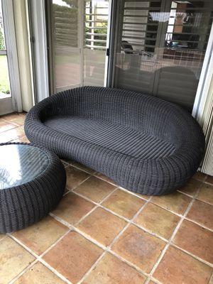 Beautiful wicker outdoor furniture for Sale in West Palm Beach, FL