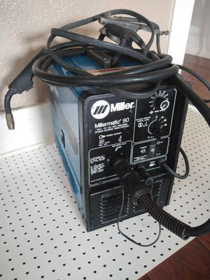 MillerMatic 90 115V CV·DC ARC Welding Power Source Wire Feeder for Sale in Anaheim, CA