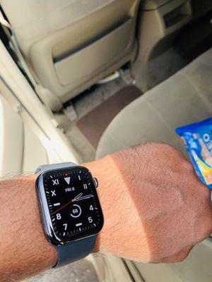 Apple Watch ⌚️ series 5, 44mm, GPS+LTE (STAINLESS STEEL SPACE BLACK) for Sale in Hayward, CA