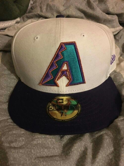 Size 7 3/4 New Era Arizona Diamondbacks Hat