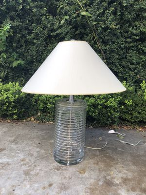 NWOT RALPH LAUREN FOR LONGORIA COLLECTION CRYSTAL LAMP for Sale in Houston, TX