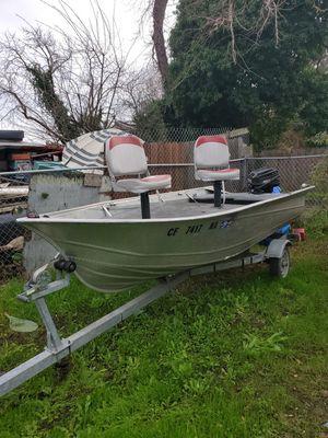 14ft valco aluminum boat for Sale in Vallejo, CA