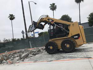 Dump truck bobcat hauling dirt asphalt demolition hauling concrete for Sale in Pomona, CA