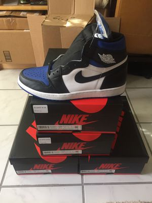 "Jordan Retro 1 ""ROYAL TOE"" sizes 12 11.5 11 10.5 for Sale in Fairfax, VA"