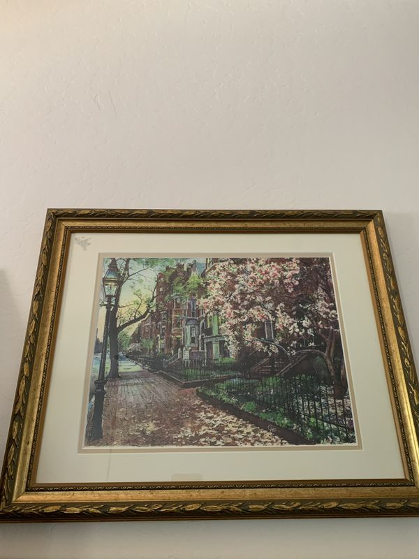 Beautiful painting frame discounted!