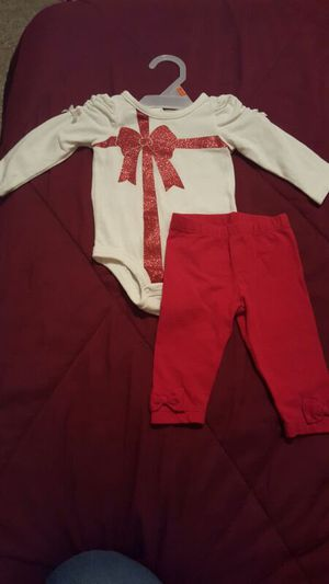 Christmas baby clothes $5 3 months for Sale in West Palm Beach, FL