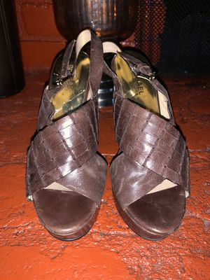 Ladies Michael Kors leather wedge New for Sale in Los Angeles, CA