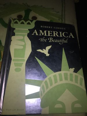 Pop Up Book America the Beautiful Learning Book for Sale in Carmichael, CA