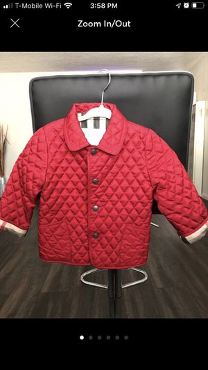 Burberry Jacket 12Month for Sale in Long Beach, CA