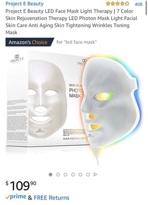 LED Face Mask, Project E Beauty for Sale in Portola Hills, CA