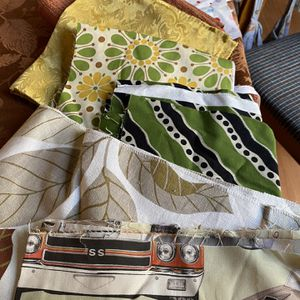Lot of Fabric, Ribbons, Patterns for Sale in Santa Ana, CA
