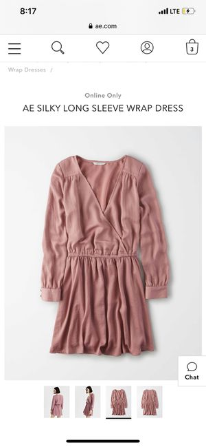 Pink Wrap Dress American Eagle for Sale in Beaumont, TX