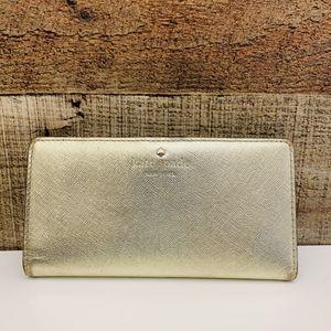 Kate Spade Metallic Wallet for Sale in Riverton, UT