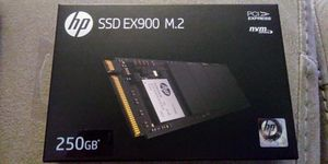 hp ssd ex900 m.2 250gb for Sale in Phoenix, AZ