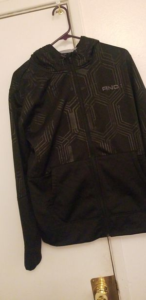 6721c68be07 New And 1 black zip up hoodie size small for Sale in Hanford