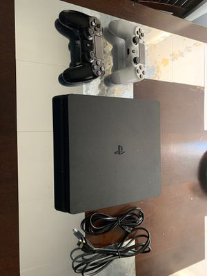 PS4 Slim with 2 controllers for Sale in Concord, CA