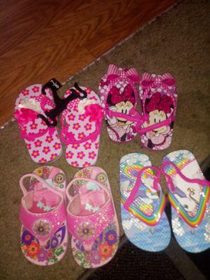 Toddler Girls Flip Flops for Sale in Anaheim, CA