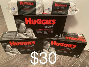Huggies Special Delivery size 2 Bundle for Sale in Lawrenceville, GA