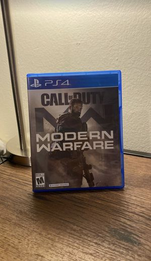 Ps4 PlayStation | Call of Duty Modern Warfare | for Sale in Cypress, CA