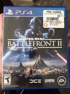 Star Wars Battlefront II (PS4) for Sale in Grand Rapids, MI