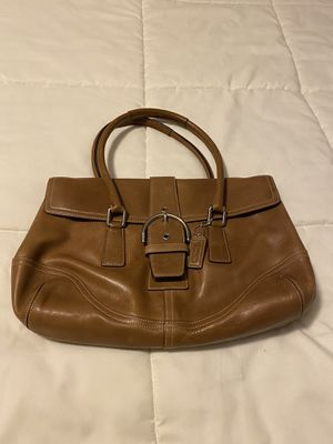 Coach brown leather boho for Sale in Littleton, CO