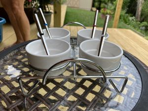 Condiment serving set for Sale in Murrysville, PA