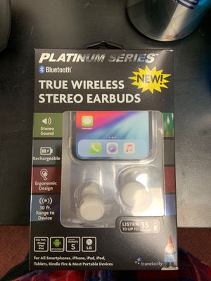 True Wireless Stereo Earbuds Platinum Series for Sale in Seven Hills, OH