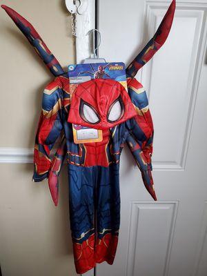 Disney iron spider toddler 4y size for Sale in Maitland, FL