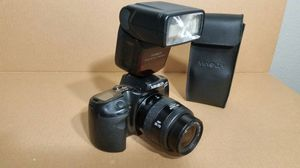Minolta Camera with lens and flash for Sale in Fresno, CA