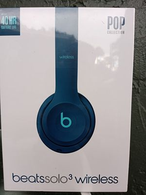 NEW Beats Solo3 Wireless headphones POP Collection for Sale in Port Richey, FL